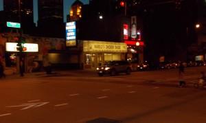 Harold's Chicken Shack just across the street from Buy Guy's.