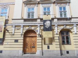 House where Pope John Paul lived when he was cardinal.